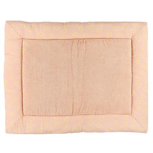 Trixie couverture pour parc de bébé Lemon Squash 95x75 cm coton rose/jaune - Parcs