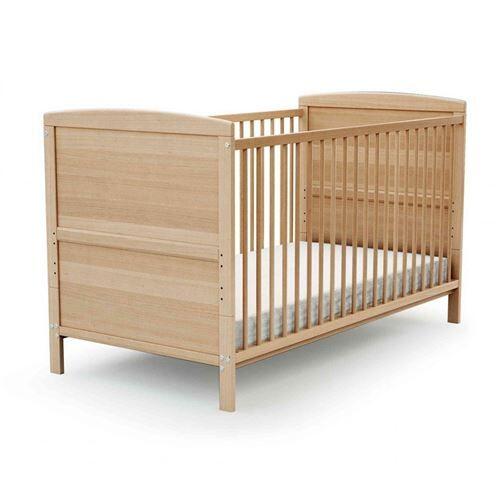 Baby Fox Lit bébé évolutif en bois verni 60x120 - Lit pour enfant
