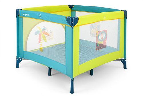 Milly Mally Lit de voyage/parc pliant moustiquaire 100x100cm bébé enfant 0+ Fun   Jungle - Lit pour enfant