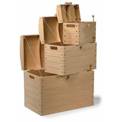 Legler Coffre à jouet de pirates en bois Marco - Autres décoration et mobilier