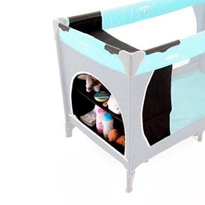 Hauck Esprit etagère-suspendue pour lit de voyage accessoires lit bébé, noir - Lits parapluie