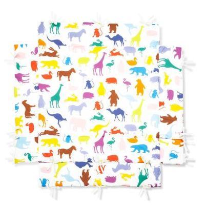 Pinolino - Tapis de parc bébé universel – Joyeux Zoo - Parcs