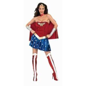 WONDER WOMAN - I-888439S - DÉGUISEMENT - COSTUME ADULTE - TAILLE S - Panoplie de déguisement
