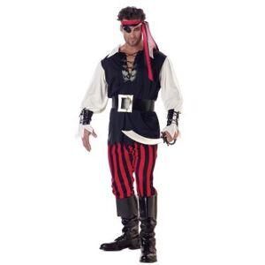 California costume Costume de Pirate - Déguisement adulte