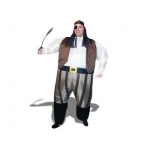 NONAME Un prodigieux costume de pirate gonflable déguisement fete accesssoire costume insolite drole - Déguisement adulte