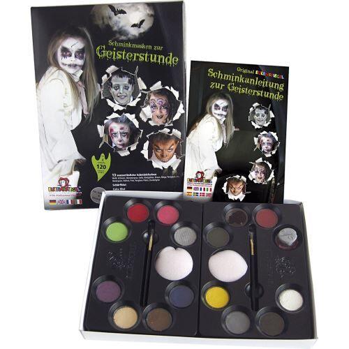 Non communiqué Eulenspiegel trousse de maquillage ghost hour 21-pièces - Déguisement enfant