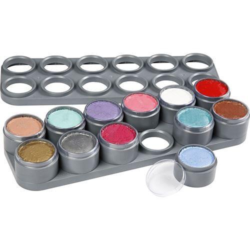 Non communiqué Grimas palette de maquillage princesse 2,5 ml multicolore 12 pièces - Déguisement enfant