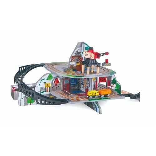 Hape Petite montagne minière circuit de train en bois Hape - Circuit et accessoires train en bois