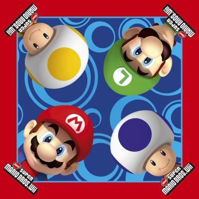 Super Mario Bros 16 Serviettes Anniversaire Super Mario Bros - Décoration - Article de fête