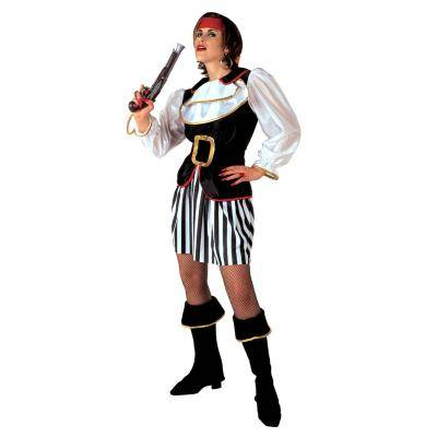 Widmann Pirate Lady-Adulte-S - 36/38 - Maquillage