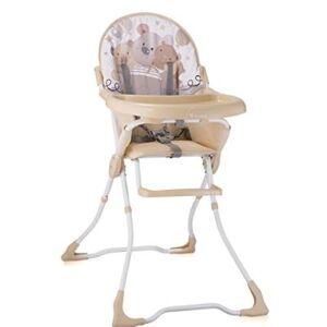 Lorelli candy chaise haute pour bébé beige - Chaises hautes et réhausseurs
