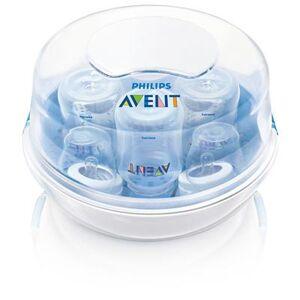 AVENT - Stérilisateur biberon micro-ondes + 4 biberons dont 1 offert - Stérilisateurs