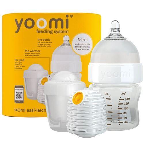 Non communiqué YOOMI Biberon auto-chauffant 140 ml Blanc - Biberons sans bisphénol A