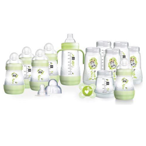 MAM Grand Kit Biberon Nouveau-Né vert Sans BPA - Biberons plastique