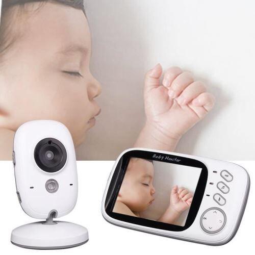 Non communiqué BabyPhone numérique vidéo Sans fil Multifonctions 3.2 pouces avec Night vision livraison - Babyphone