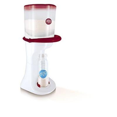 Dbb remond dose pot de conservation du lait blanc/marsala - Accessoires allaitement