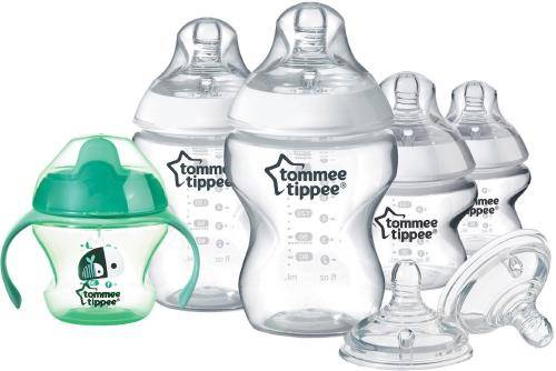 TOTI Starter kit naissance biberons transparents Tommee Tippee - Biberon sans bisphénol A