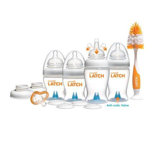 MUNC Kit nouveau-né Munchkin Latch - Biberon sans bisphénol A