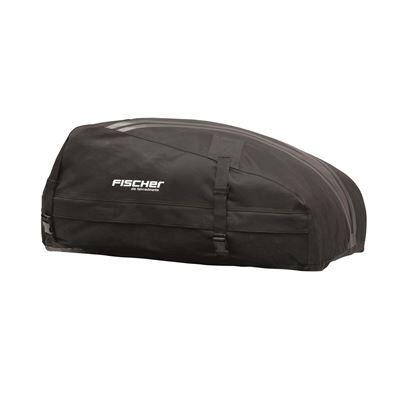 fischer 126000 coffre de toit pliable, étanche et très solide de 270 l avec sac de rangement - voiture
