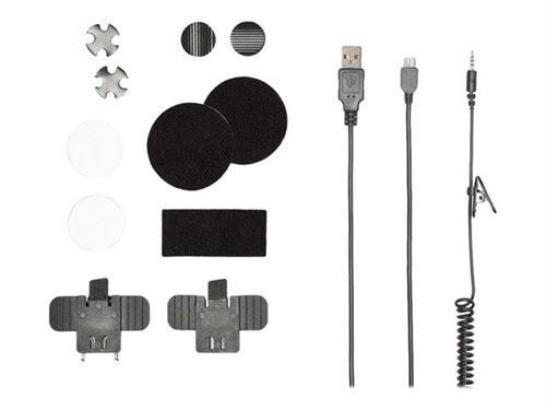 Non communiqué Albrecht BPA 500 - Micro-casque - montage sur casque - Bluetooth - sans fil - Ecouteurs