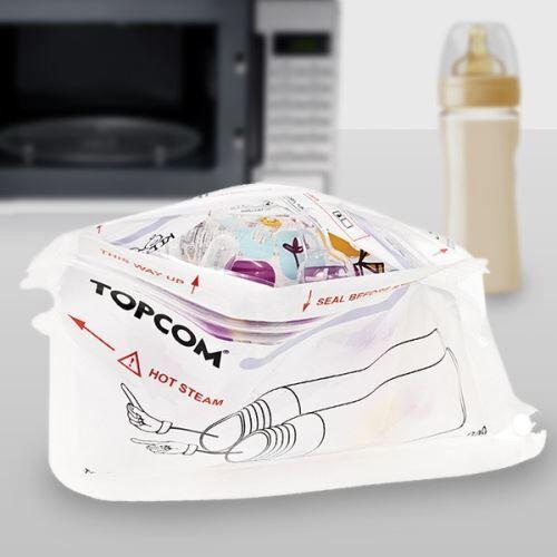 Stérilisateur pour Biberon et accessoires au micro-ondes - Hygiene bébé - Stérilisateurs