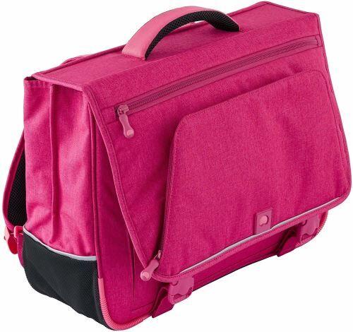 delsey scolaire schoolbag cartable, 42 cm, rose - autres figurines et répliques