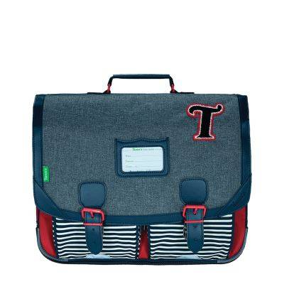 Tann's Cartable scolaire Les Chinés 41cm Teddy - Cartable, sac à dos primaire