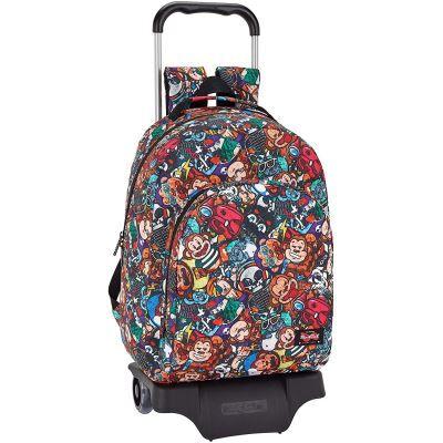 blackfit8 Monkey officielle sac à dos Sport, modèle 305 avec chariot safta 905, 320 x 420 x 150 mm - Cartable, sac à dos primaire