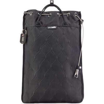 PacSafe Travelsafe GII Sac bandoulière, 52 cm, 12 L, Black 100 - Cartable, sac à dos primaire