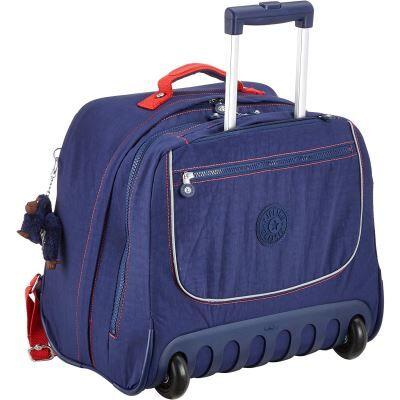 Kipling CLAS Dallin Cartable, 42 cm, 25 liters, Bleu (Polish Blue C) - Cartable, sac à dos primaire
