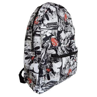 Pas de marque DC Comics Superman backpack 40cm - Cartable, sac à dos primaire