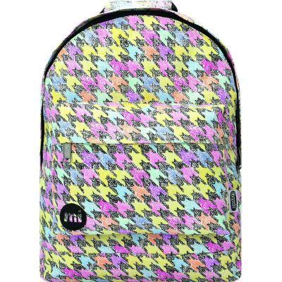 Mi-Pac Mini Sac à Dos Enfants, 41 cm, Multicolore(Dogtooth Multi) - Cartable, sac à dos primaire