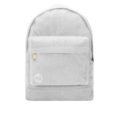 Mi-Pac Fur Sacs À Dos Sac à Dos Loisir, 41 cm, Fur Light Grey - Cartable, sac à dos primaire