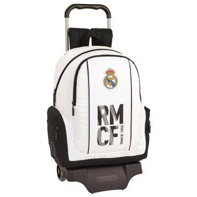 SAFTA - Real Madrid Chariot 43cm Chariot 905 - Cartable, sac à dos primaire