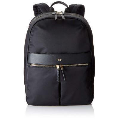 Knomo Mayfair Sac à Dos Loisir, 43 cm, 13.6 liters, Noir (Black) - Cartable, sac à dos primaire