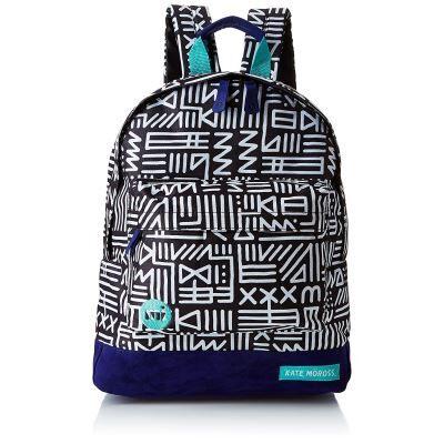 Mi-Pac Collaborations Sac à Dos Loisir, 41 cm, Tribal Black White - Cartable, sac à dos primaire