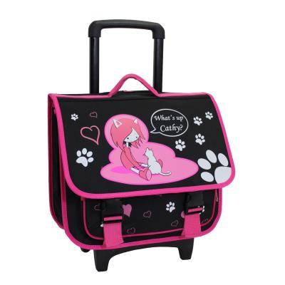 Alistair Cartable Trolley Scolaire Alistair - 39cm - Fille - What's Up Cathy - Cartables scolaires