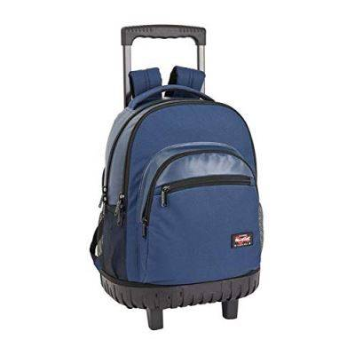 BlackFit8 Sac à Dos Scolaire Bleu Marine 320 x 140 x 460 mm - Cartable, sac à dos primaire
