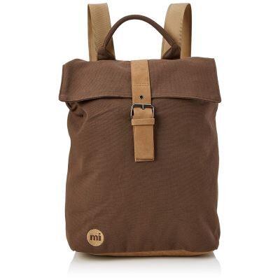 Mi-Pac Day Pack Sac à Dos Loisir, 39 cm, Marron(Canva DK Brown) - Cartable, sac à dos primaire