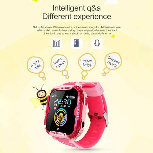 XCSOURCE T19 enfants étanche montre intelligente GPS WIFI Tracker 4G appel vidéo AC2180 - Bracelet et Tracker d'activité