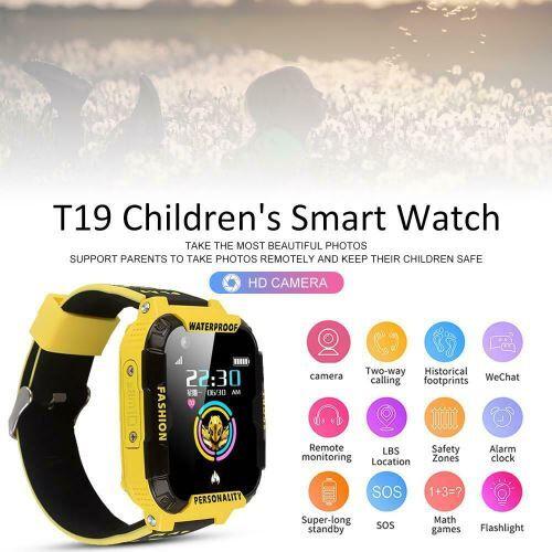 XCSOURCE T19 enfants étanche montre intelligente GPS WIFI Tracker 4G appel vidéo AC2181 - Bracelet et Tracker d'activité