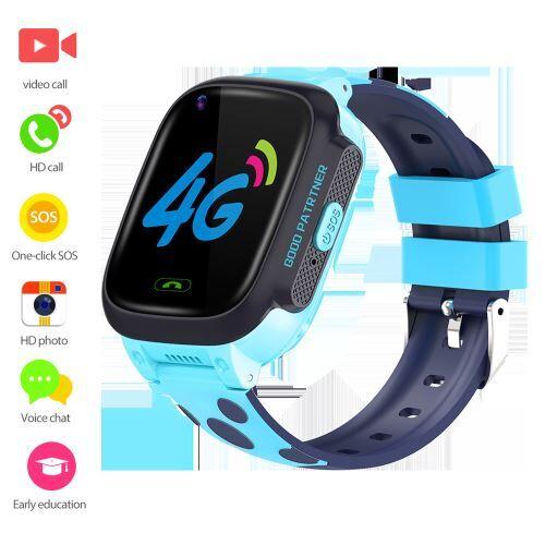 XCSOURCE Montre intelligente pour enfant vidéo LBS Tracker Phone 4G bracelet AC2199 - Bracelet et Tracker d'activité