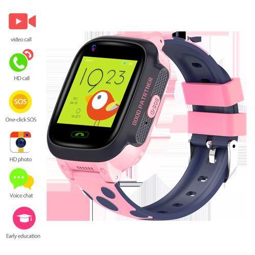 XCSOURCE Montre intelligente pour enfant vidéo LBS Tracker Phone 4G bracelet AC2200 - Bracelet et Tracker d'activité