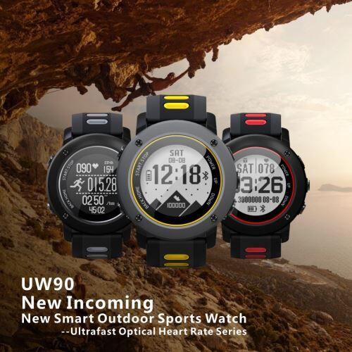 UWear montre Smart Watch Sports de plein air en cours d'exécution IP68 étanche La montre tapis roulant - Montre connectée