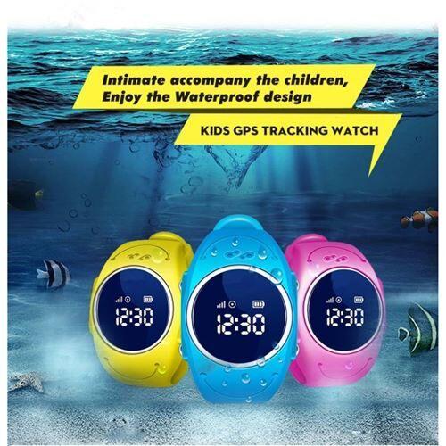Montre Bracelet GPS pour Enfant Q52 (Rose) - Autres