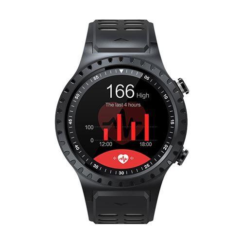 Montre connectée,Compatible Course à pied Sport GPS Téléphone Appeler téléphone Étanche Heart Rate Compas,silicone + PC - Multicolore - Montre connectée