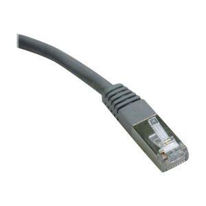Tripp Lite 7ft Cat6 Gigabit Molded Shielded Patch Cable STP RJ45 M/M Gray 7' - cordon de raccordement - 2.1 m - gris - Switch réseau