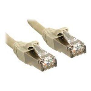 Lindy Premium cordon de raccordement - 50 m - gris - Switch réseau