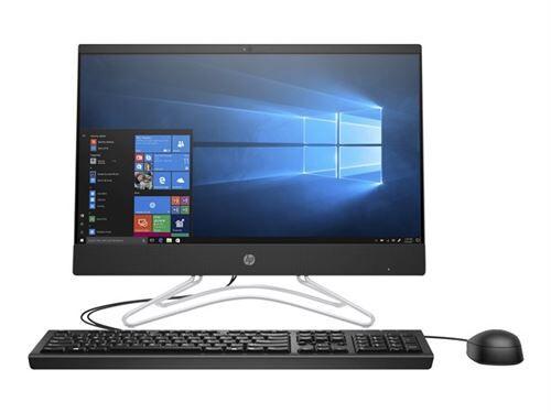 "HP 200 G3 - Tout-en-un - Core i5 8250U / 1.6 GHz - RAM 8 Go - HDD 1 To - graveur de DVD - UHD Graphics 620 - GigE - LAN sans fil: 802.11a/b/g/n/ac - Win 10 Pro 64 bits - moniteur : LED 21.5"" 1920 x 1080 (Full HD) - clavier : Anglais - PC tout-en-un"