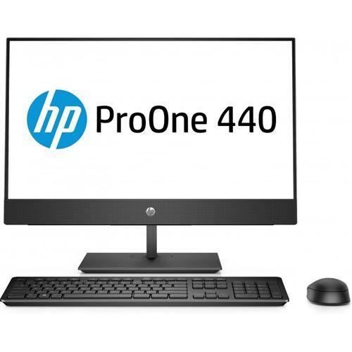 "HP ProOne 440 G4 - Tout-en-un - 1 x Core i5 8500T / 2.1 GHz - RAM 8 Go - HDD 1 To - graveur de DVD - UHD Graphics 630 - GigE, Bluetooth 5.0 - LAN sans fil: 802.11a/b/g/n/ac, Bluetooth 5.0 - Win 10 Pro 64 bits - moniteur : LED 23.8"" 1920 x 1080 (Full"